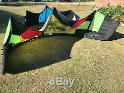 12m + 9m Ozone Catalyst 2014 Kitesurfing Kites + 50cm Contact Bar + Pump