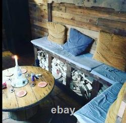 12x8 Home Garden bar pub cocktail summerhouse shed man cave beer pump log burner