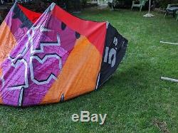 2013 Best Kahoona 5.5 M Kite with Kite Bar Lines, Bag and Pump