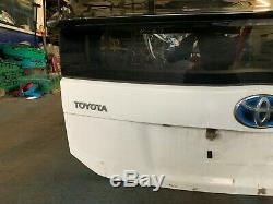 2013 Toyota Prius 1.8 Hybrid Petrol Rear Tailgate Bootlid Windscreen Solid White