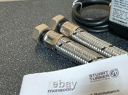 2017 Stuart Turner Monsoon 2 Bar Single Universal Shower Pump Negative 46498
