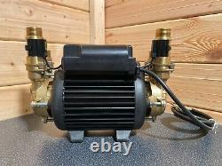 2017 Stuart Turner Monsoon 3.0 Bar Twin Standard Shower Pump Positive 46416 3