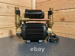 2017 Stuart Turner Monsoon 3.0 Bar Twin Universal Shower Pump Negative 46410 3