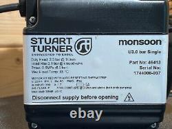 2017 Stuart Turner Monsoon 3 Bar Single Universal Shower Pump Negative 46413