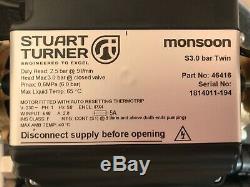 2018 Stuart Turner Monsoon 3.0 Bar Twin Standard Shower Pump Positive 46416 3