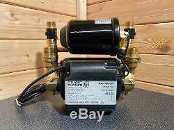 2019 Stuart Turner Monsoon 1.5 Bar Twin Universal Shower Pump Negative 46505 2 3