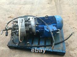 22kw Three Phase Harben Jetter Pressure Washer Pump 36l/m 275bar