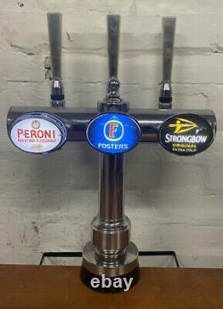 3 Way Bar Font /beer Pump/ home Bar/ Garden Bar/ Man Cave