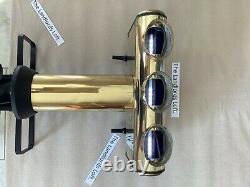 3 Way Vintage Brass Bar Font /beer Pump/ home Bar/ Garden Bar/ Man Cave