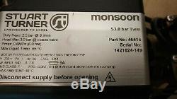 3mth Warranty Stuart Turner 46416 3.0 3bar Positive Head Shower Pump Flexihoses