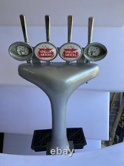 4 Tap Light Up Beer Font With Transformer. Pub / Bar / Mancave