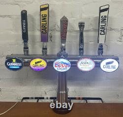 5 Way Bar Font /beer Pump/ home Bar/ Garden Bar/ Man Cave