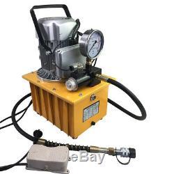 700Bar Elektrohydraulikpumpe Mit Pedal Acting Hydraulikaggregat 70MPA 750W USED