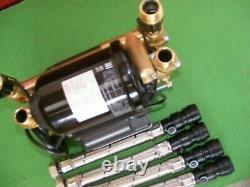 A Stuart Turner 2.0 Bar Twin Negative Pump