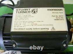 A Stuart Turner 4.0 Bar Brass Twin Pump