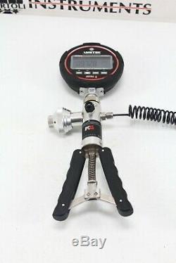 AMETEK JOFRA IPI MK II Digital PRESSURE GAUGE 100 PSI, 7 BAR & T-975 Hand Pump