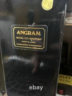 Angram Co/cq Beer Engine/ Beer Pump For Man Cave/shed Pub/home Bar. Wood, Brass