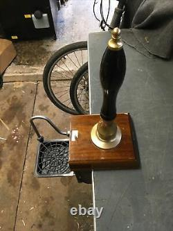 Angram Cq Beer Engine/ Beer Pump For Man Cave/shed Pub/home Bar. Brass/black