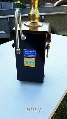 Angram Cq Beer Engine/ Beer Pump For Man Cave/shed Pub/home Bar. Chrome