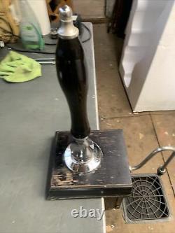 Angram Cq Beer Engine/ Beer Pump For Man Cave/shed Pub/home Bar. Chrome Black. 1