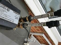 Bargain Stuart Turner Monsoon 3 bar twin 46416 shower pump in good working order
