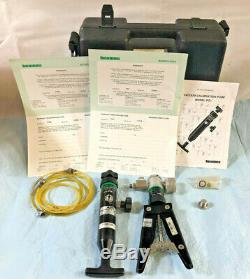 Beamex PGM 20 Bar Calibration Pump & PGV 0 to -0.95 bar Vacuum Cal Pump Kit