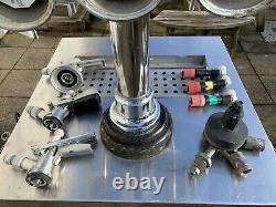 Beer pump bar cooler x 2