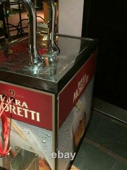 Birra Moretti 2 pump Mobile Bar. A High Quality, Light Weight, Mobile Bar