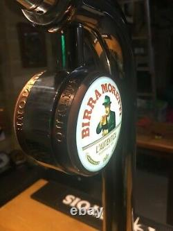 Birra Moretti Bistro Beer pump bar font man cave bar