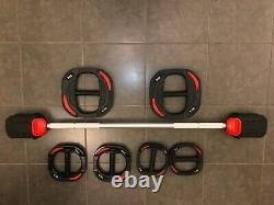 Body Pump Les Mills Style Smart Bar and Weights Barbell 20kg Set (unbranded)