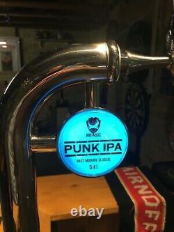 Brew Dog Punk IPA beer pump bar font