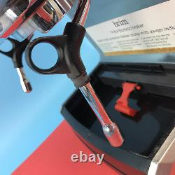 Brim -19-Bar Espresso Maker -High Pressure Italian pump TSK-1859B Silver #CR0190