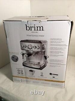 Brim -19-Bar Espresso Maker Model TSK-1859B -High Pressure Italian Pump #MP0190