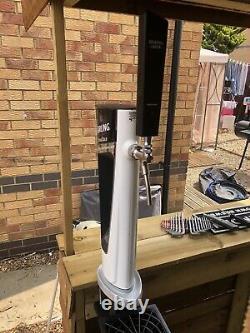 Carling Beer Pump Full Set Up Mobile Bar Man Cave Outside Bar