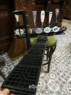 Carling Fosters Six 6 Tap Beer Pump Worthingtons Grolsch Trophy Pub Bar Counter