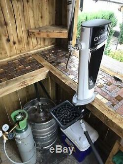 Carling Pump Full Set Up Mobile Bar Man Cave Outside Bar