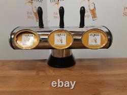 Complete 3 Line Home Bar System Beer Cooler Pumps Etc