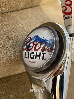 Coors Light Beer Pump / Font -man Cave Home Bar