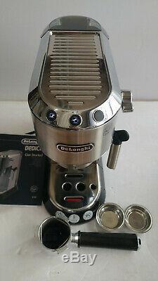 Delonghi EC680M Dedica 15-Bar Pump Espresso Machine, Stainless Steel, Light Use