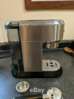 Delonghi EC680M Dedica 15-Bar Pump Espresso Machine Stainless Steel SEE VIDEO