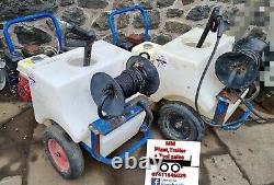 Demon Pressure Washer Honda Gx200 Petrol 140bar Pump Mini Bowser 10m Hose+ Lance