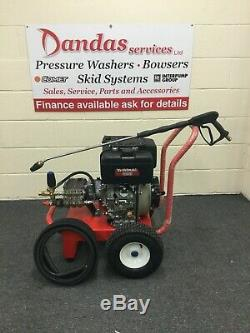 Diesel Pressure Washer Yanmar L100 E/S & gearbox AR Pump 15LPM/200 bar/3000psi