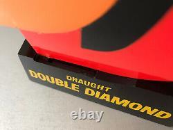 Double Diamond Beer Pump Top Bar Advertising Light Very Rare Very Cool Retro