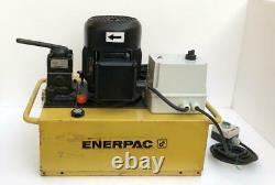 Enerpac Electric Hydraulic Power Pack/ Pump 4-way Valve 700 Bar/10,000 Psi