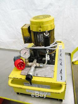 Enerpac Hydraulikpumpe, Hydraulik-Aggregat, Pumpe Hydraulik 700 bar