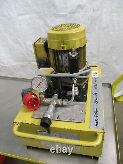 Enerpac, Hydraulikpumpe, Hydraulik-Aggregat, Pumpe Hydraulik 700bar