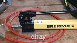 Enerpac P391 Hydraulic Hand Pump 10000 PSI / 700 Bar, 1 Speed Made in USA