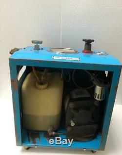 FUJI AIR HYDRAULIC TEST PUMP/ FLUID PUMP OIL BOOSTER PUMP 250 MPa 2500 BAR