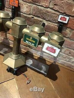 Fantastic Worthside Brass T-bar Beer Taps/pump