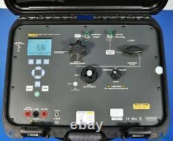 Fluke 3130-G2M Portable Pneumatic Pressure Calibrator 300PSI 20 bar Auto Pump